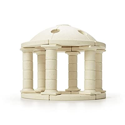 Taksa Toys Arch•Kid•Tech Greek Dome – Architectural Building Blocks Set for Learning History and Ancient Building Techniques: Toys & Games
