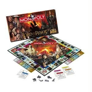 Usaopoly Monopoly - Lord Of The - The Monopoly Rings Of Lord
