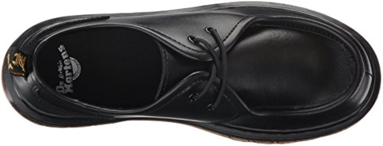Boys Youth Dr Martens Hambleton Black T Lamper Primium Leather School Shoe SIZE 4