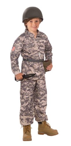 Army Costumes Kid (Forum Novelties Desert Soldier Child Costume, Medium)