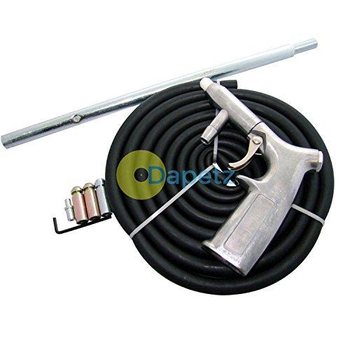Daptez Air Sand Blaster Blasting Grain Shot Sableuse Pistolet Kit