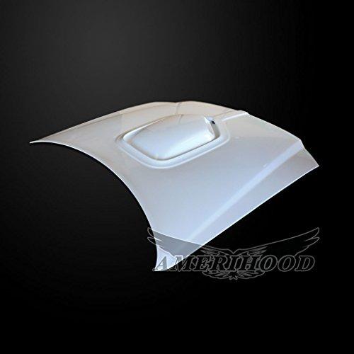 (AmeriHood DM05AHSHKFH Dodge Magnum 2005-2007 Type-Shaker Style Functional Ram Air Hood)