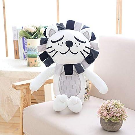 DishyKooker 40 cm Kawaii Peluche Gato león muñeca Juguetes ...