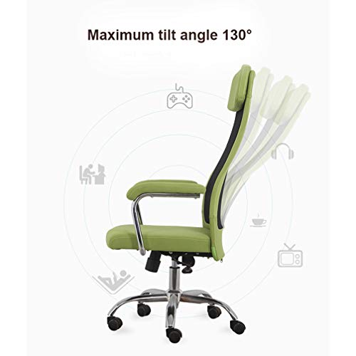 XIAOWEIBACL Ergonomisk kontorsstol nackstöd nät kontorsstol kontorsstol dator uppgift stol