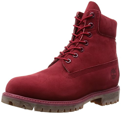 a A1149 Homme Bottes 6 Waterproof Premium Timberland Inch Rouge wRxq80