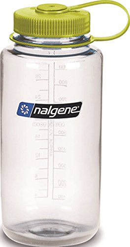 Nalgene Tritan Wide Mouth BPA-Free Water Bottle, 32-Ounces