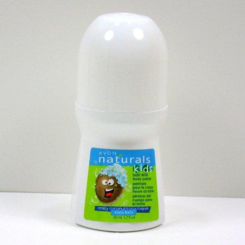 Naturals Kids Bath Time Body Paints Crazy Coconut By Avon
