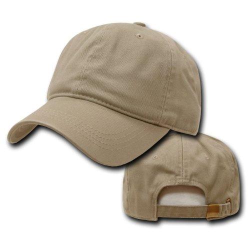 DECKY Two Ply Polo Cap, Khaki