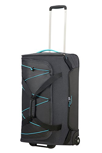 Quest grey 75 Liters Viaje 67 American Wheeled Bolsa Tourister Gris black Cm Duffle graphite Medium Road turquoise De qxUwxPEZ