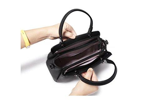 femmes à pour Design sacs à Couleur A main mode élégant sacs pure couleur fourre des occasionnels femmes tout bandoulière à d'épaule A bandoulière les Sacs fqXwpZnZ