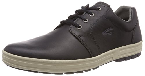 camel active Herren Laponia 50 Oxfords Schwarz (Black)