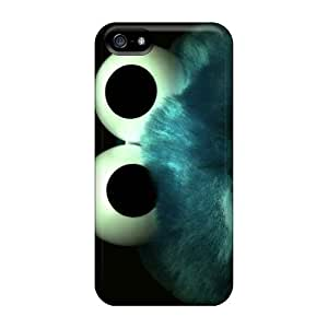 Tpu Shockproof/dirt-proof Cookie Monster Cover Case For Iphone(5/5s)