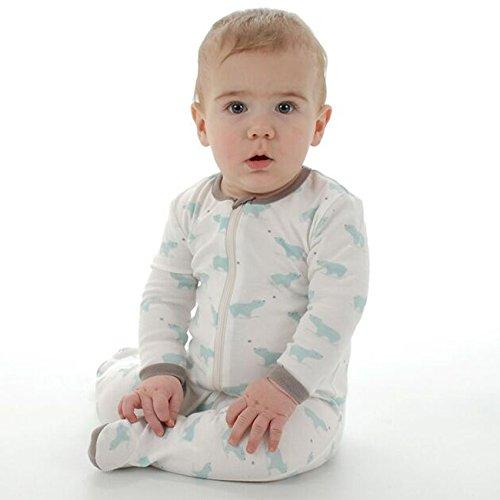 Silkberry Baby Unisex-Baby Organic Cotton Footie Sleeper