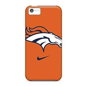 High Quality Mobile Cases For Iphone 5c With Allow Personal Design HD Denver Broncos Logo Skin JasonPelletier hjbrhga1544