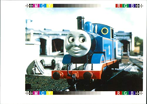 Vintage photo of Thomas and Friends.