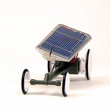 Tamiya 76001 Solar Car Assembly