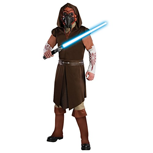 Deluxe Plo Koon Costume (Deluxe Plo Koon Costume - X-Large - Chest Size 44-46)