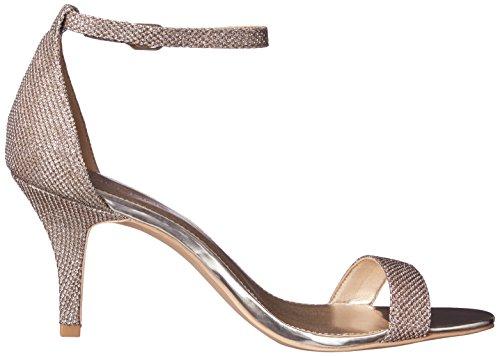 Fasciale Da Donna Con Vestito Di Madia Sandalo Oro Glamour