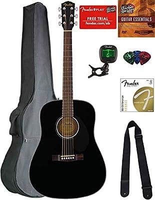 Fender CD-60S Guitar Bundles