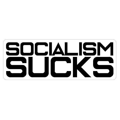 - Socialism Sucks Sticker Custom Vinyl USA United States Democrat Republican Capitalism
