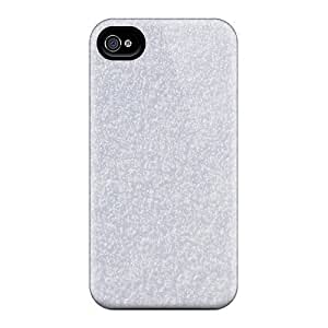 Iphone 4/4s DXclQEs8596iHyVT Snow Texture Tpu Silicone Gel Case Cover. Fits Iphone 4/4s