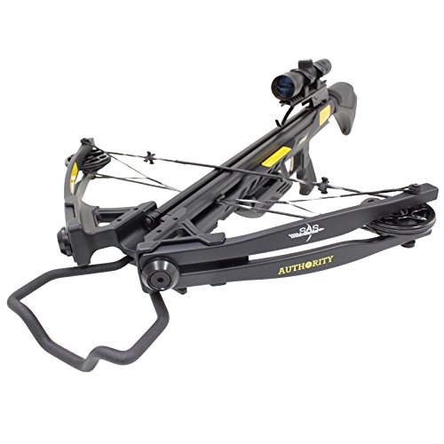 Southland Archery Supply SAS Authoirity 175lbs Compound Crossbow 4x32 Scope Package -