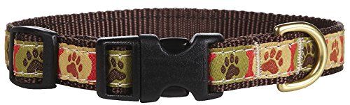 Up Country Pawprints Collar  - X-Small