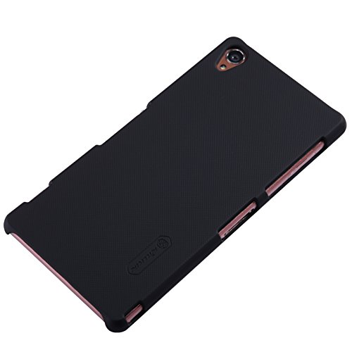 new product 58d73 52b30 Nillkin Super Frosted Shield Case for Sony Xperia Z3 - Black (Retail  Packaging)