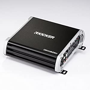 Kicker DXA 500 Watt Monoblock Class D Subwoofer Car Audio Amplifier | 43DXA5001