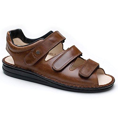 Finn Comfort Men's Tunis Sandal,Chestnut Buttero,42 EU (US Men's 9 M)