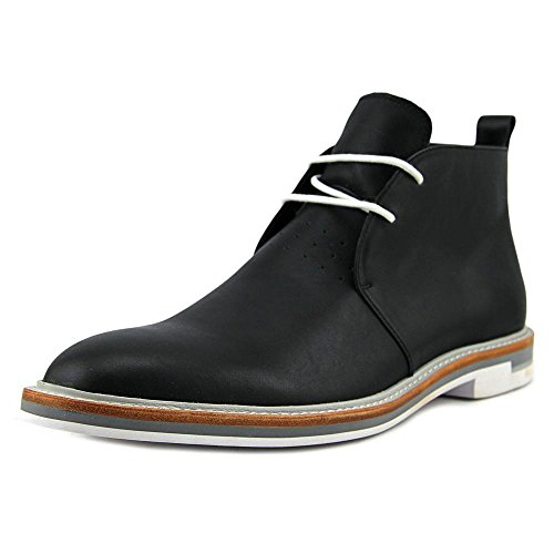 Calvin Klein Jonas Men Wingtip Toe Leather Black Chukka Boot