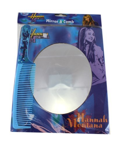 Hannah Montana Mirror and Comb - Miley Cyrus Mirror & Comb