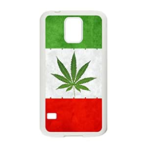 iran weeds flag Samsung Galaxy S5 Cell Phone Case White xlb2-150806