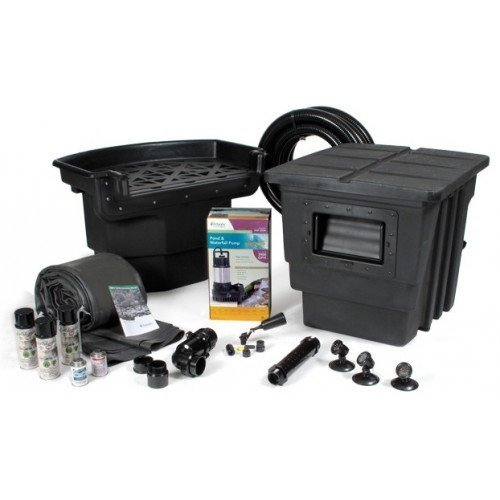 Professional Pond Kit (Atlantic Water Gardens 16 x 16-Foot Professional Pond Kit - 2900 Gallons)