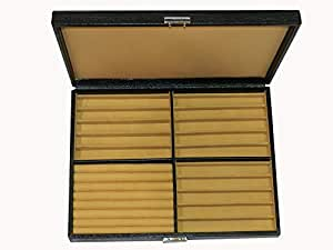 Laveri Leather 15 Pen,Ring And Cufflinks Box