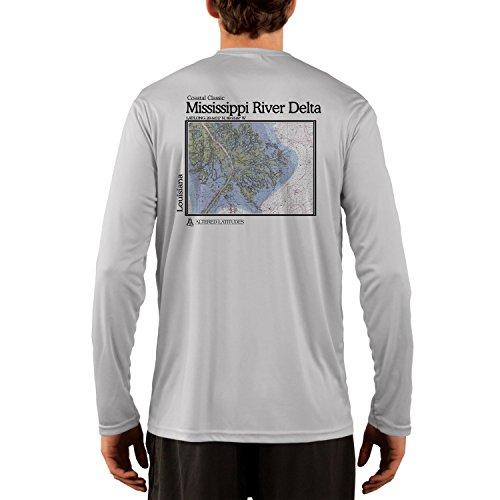 Altered Latitudes Coastal Classics Mississippi River Delta Chart Men