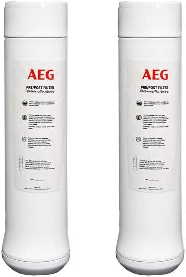 AEG AEGPPF Pre/Post Filtros de Repuesto Para Sistema de Ósmosis ...