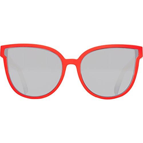 Zipper hombre y para azul rojo Von de blanco Gafas cromado plateado sol color 6nnqXd