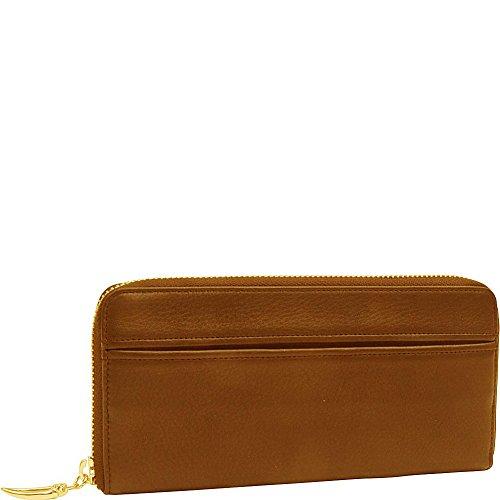 tusk-ltd-donington-gold-zip-clutch-wallet-wood