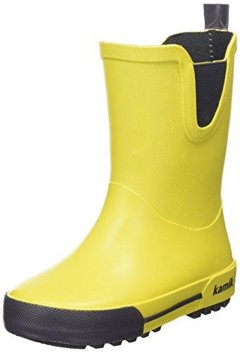 Kamik Unisex-Kinder Rainplay Gummistiefel Gelb (Yellow-Jaune)