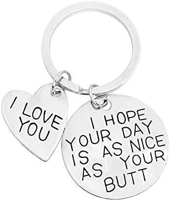 Keychain Boyfriend Girlfriend Keyring Husband product image