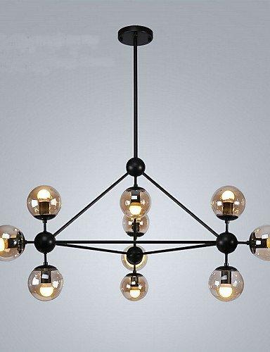 DXZMBDM® 3W Vintage / Rustikal Inklusive Glühbirne Korrektur Artikel Metall PendelleuchtenEsszimmer / Studierzimmer/Büro / Spielraum / Korridor / , 220-240v-black