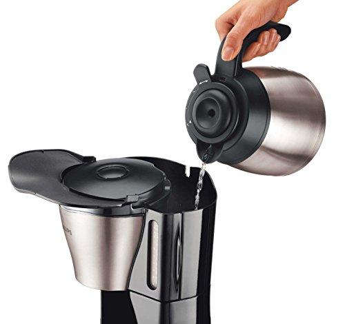 Philips HD7546/20 Gaia Filter-Kaffeemaschine mit Thermo-Kanne, schwarz/metall 5
