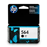 HP 564 Black Ink Cartridge (CB316WN) for HP Deskjet 3520 3521 3522 3526 HP Officejet 4610 4620 4622 HP Photosmart: 5510 5512 5514 5515 5520 5525 6510 6512 6515 6520 6525 7510 7515 7520 7525 B8550