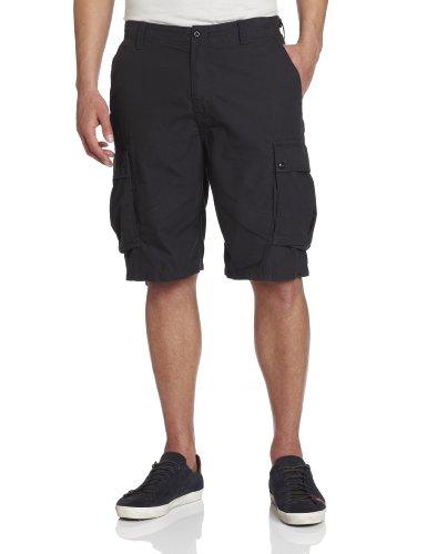 Nautica Men's Ripstop Cargo Shorts Off Black 33 X ()