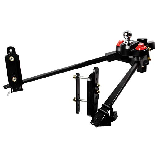 Eaz-Lift 48701 Trekker Weight Distributing Hitch with Adaptive Sway Control – 600 lb. Weight Rating