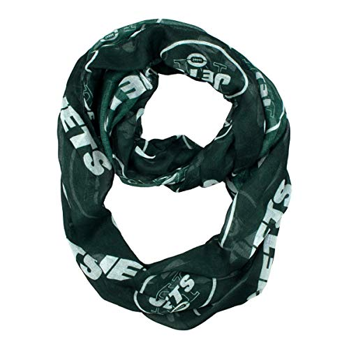 NFL New York Jets  Sheer Infinity Scarf