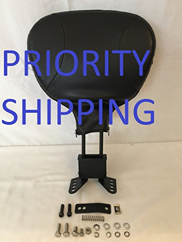 Detachable Driver Rider Backrest Pad Upright For Harley Davidson HD Touring Road King FLHR Road King classic FLHRC Models 1988-2008.