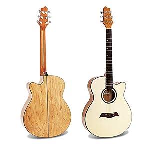 LOIKHGV Gitarre- Westerngitarre, 40 Zoll