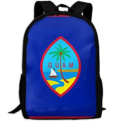 Guam Fashion Outdoor Shoulders Bag Durable Travel Camping Backpack For Adult   Kids' Backpacks